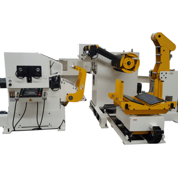 Uncoiler Straightener with Servo Feeder Machine