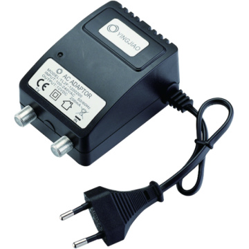3W Europa-Stecker AC 220-240V Linear Power Adapter