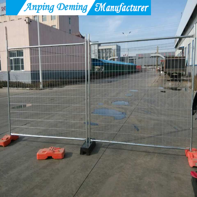 Canada Construction Fence Panels Portable Temporary Fence Hot Sale