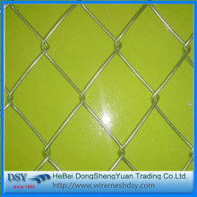 PVC Coated Green Chain Link Fence with Posts