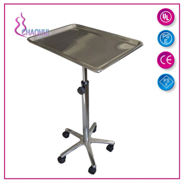 China Professional Supplier for China Tattoo Chair, Hydraulic Tattoo Chairs, Adjustable Tattoo Chair supplier Stainless Steel Mayo Tray For Tattoo Furniture supply to Germany Factories