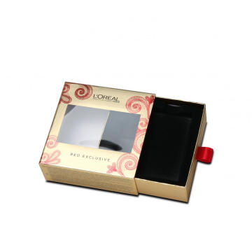 Ribbon Handle Sliding Drawer Box In Packaging Boxes