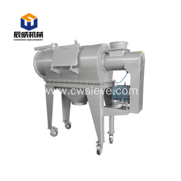 ce centrifugal sieve sifter for pure rubber crumb