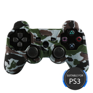 Water Transfer Printing Silicone Cover for PS3