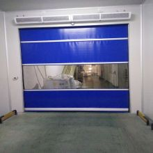 I-Automatic Radar PVC Roller Shutter Speed ​​Door