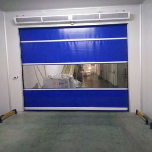 Automatic Radar PVC Roller Shutter Speed Door