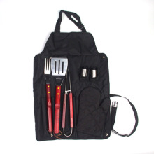 Quality for Outdoor BBQ Set Apron 7pcs bbq tools with apron set supply to Spain Manufacturer
