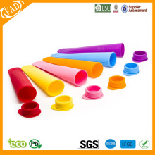 One of Hottest for Commercial Silicone Ice Pop Mold,Best Ice Cream Pop Mould Food Grade BPA Free Silicone Ice Sticks Maker supply to Bulgaria Factory