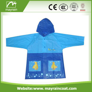 Kid PVC Raincoat with Hood