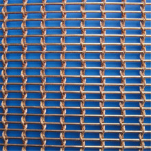 Stainless Crimped Wire Mesh Screen for Decoration