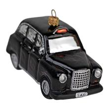 Car Shaped Blown Christmas Glass Ornaments