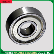Standard deep groove ball 608ZZ miniature bearing