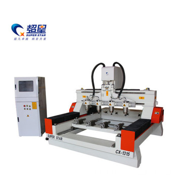 multifunction 4 axis cnc woodworking machine