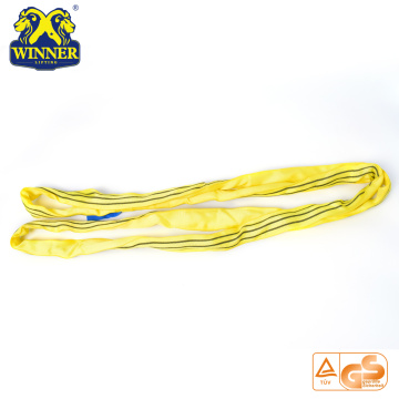 Polyester Endless 3 Ton Round Lifting Belt Webbing Sling