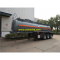18000 Litres Steel H2SO4 Tank Trailers