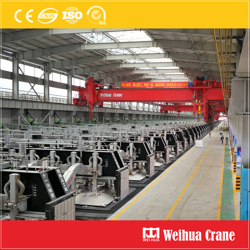 Overhead Crane For Electrolytic Aluminum