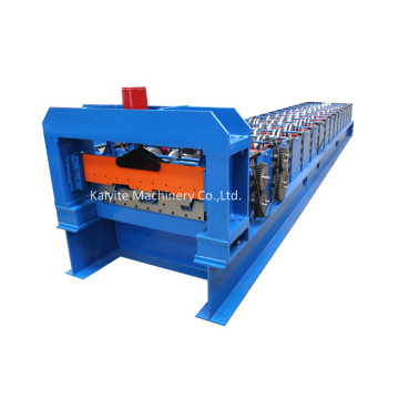 Automatic Metal Slabs Roll Forming Machine For Ecuador