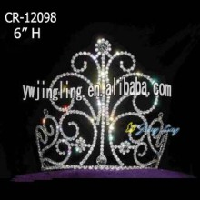 "6"" Custom beauty Queen Crown For Girl"