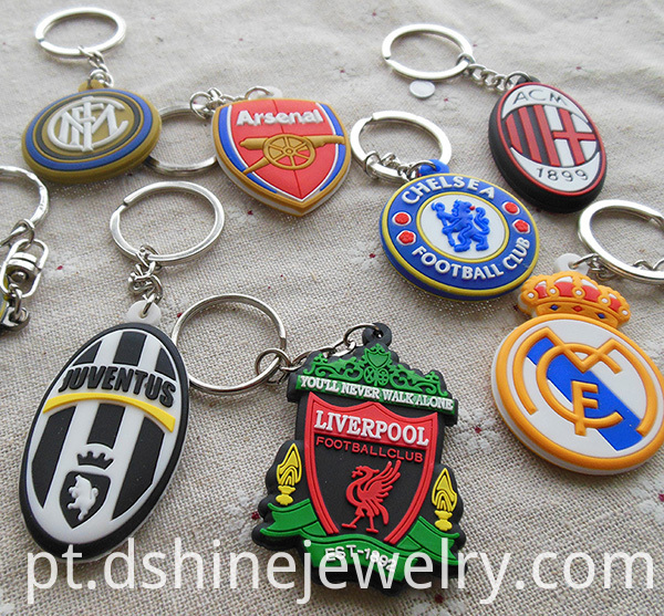 Custom 3D Soft PVC Keyring