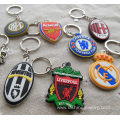 Promotional Cheap Custom 3D Soft PVC Keyring For Team Gift