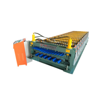double roof tile making machine