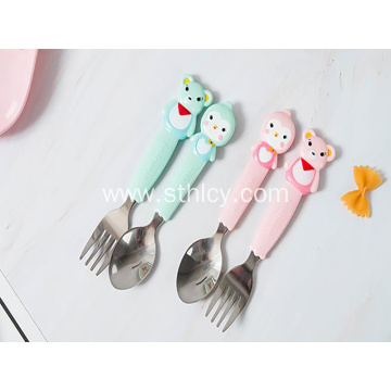 Food Supplement Austenitic Stainless Steel Fork Spoon Set