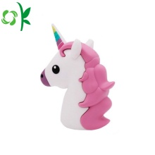 3D Unicorns Power Bank Cute Portable Battery Case