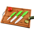 3 PCS ABS Handle Ceramic Knives
