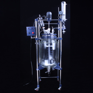 100l Chemical jacketed glass reactors