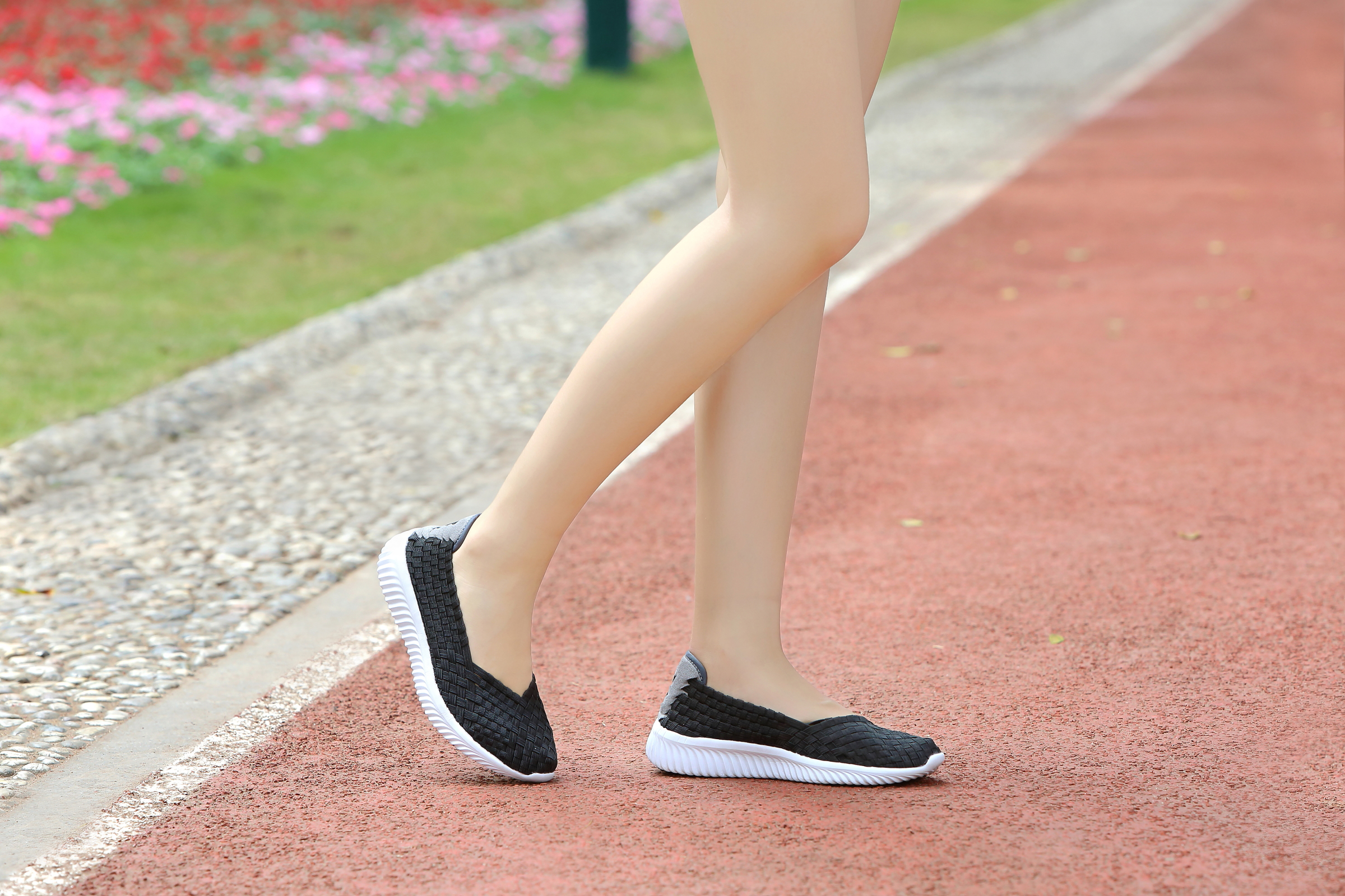 Lightweight Casual Woven Pumps