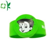 Hight-qualitiy Cartoon Custom Silicone Mosquito Wristbands