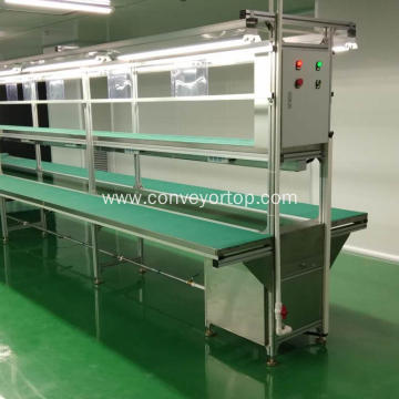 High Quality Industrial Small Powered Rubber Belt Conveyor