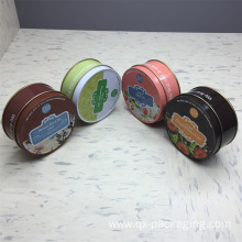 Good Quality for Custom Tin Gift Cans Custom small metal tins export to United States Exporter