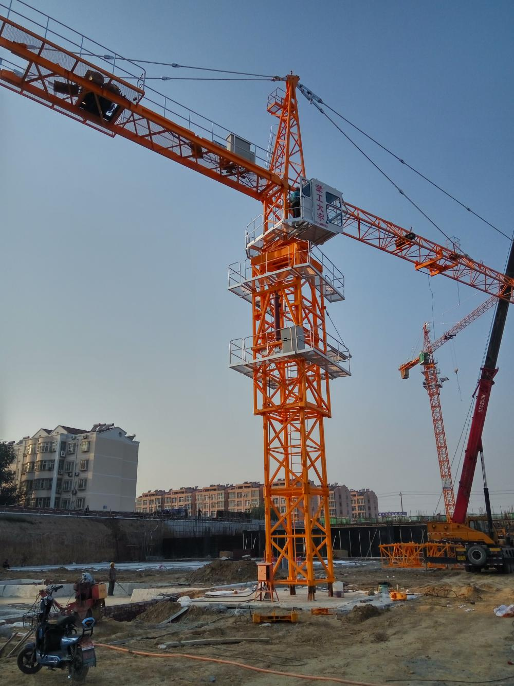 8t CE Used Tower Crane