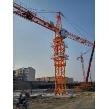 China for Hammerhead Widely Luffing Tower Crane 8t Liebherr Zoomlion Potain CE Used Tower Crane supply to Moldova Importers