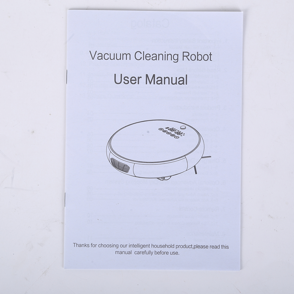 Vacuum Cleaning Robot With LED Screen (5)