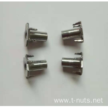 Stainless steel Rectangular plane Rivet Tee Nut