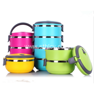 Stainless Steel Thermos Lunch Box 1-4 Tier
