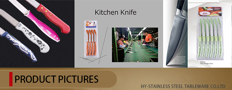 Stylish Stainless Steel Suits Knives