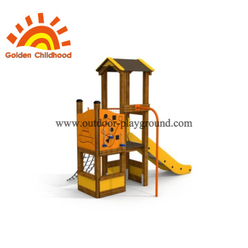outdoor playgrounds without swings zip line