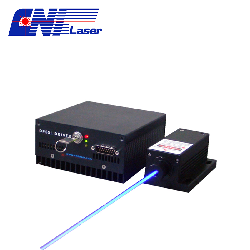 low noise blue laser