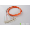 0.9mm SM Ribbon Fiber Optic Pigtail