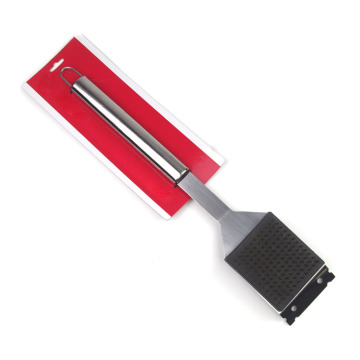 High quality stainless steel bbq grill cleaning brush