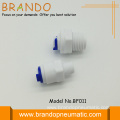 Pom Straight Plastic Male adapter 1/4""
