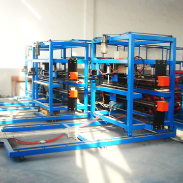 Reliable construction used sandwich panel machine