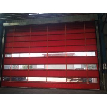 Material de PVC abatible puerta enrollable