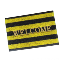 Door Mat with Logo DOUBLE COLOR STRIP PVC