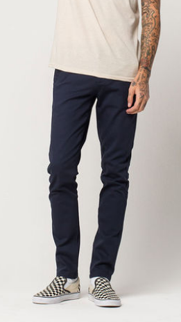 Skinny Stretch Chino Pants