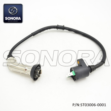 GY6-50 125 139QMAB 152QMI Engine Iron Head Ignition Coil (P/N:ST03006-0001) Top Quality