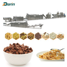 Crispy Corn Flakes Cereals Extruding Line